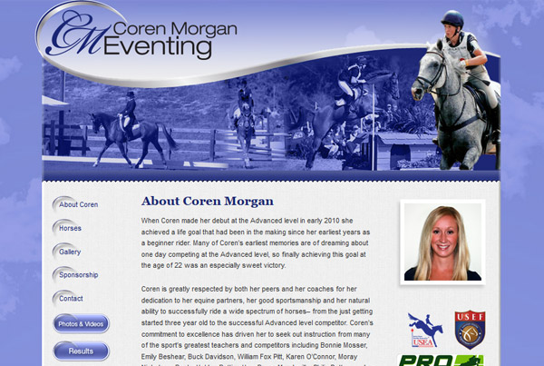 Coren Morgan Eventing