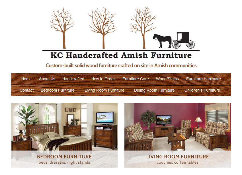 Traditions Furniture In Downtown Overland Park Ify Custom Website And Logo Design For Kansas Small Business